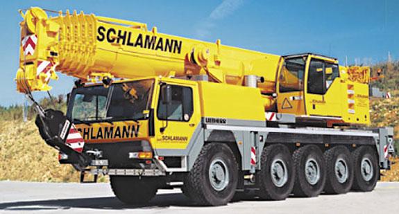 Bild 1 Schlamann G. u. H. Autokrane u. Transporte GmbH in Marklohe