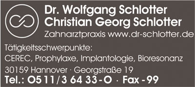 Bild 1 Schlotter Wolfgang Dr.med.dent. und Schlotter Christian G. in Hannover