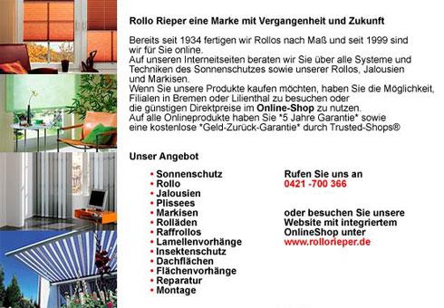 Bild 1 Rollo Rieper Rouven Rieper in Bremen