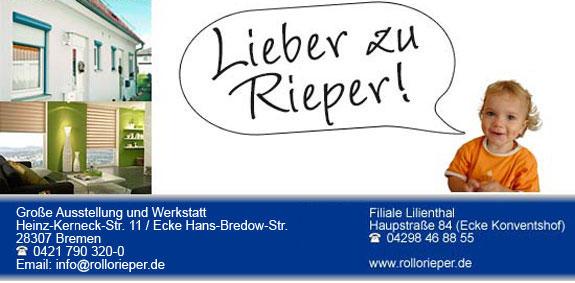 Bild 2 Rollo Rieper Rouven Rieper in Bremen
