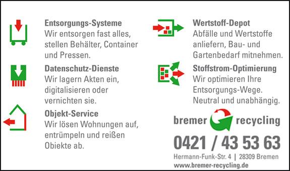 Bild 1 BIR Bremer Recycling in Bremen