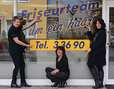 friseurteam um ein haar in oldenburg in oldenburg. Black Bedroom Furniture Sets. Home Design Ideas