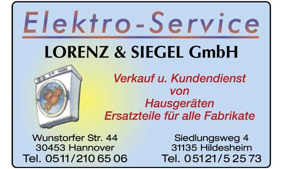 lorenz siegel gmbh elektro service in hannover limmer mit adresse und telefonnummer. Black Bedroom Furniture Sets. Home Design Ideas