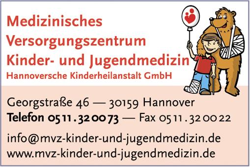 Bild 1 Medizinisches Versorgungszentrum/Hannoversche Kinderheilanstalt GmbH in Hannover