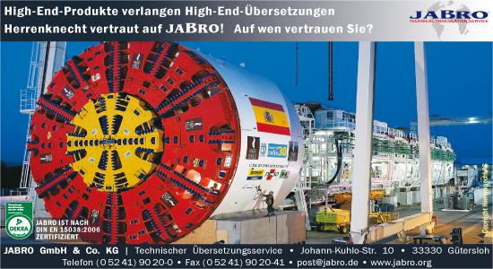 Bild 1 JABRO GmbH & Co. KG in G�tersloh