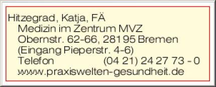 Bild 1 Hitzegrad in Bremen