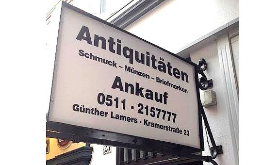 Bild 1 Lamers in Hannover