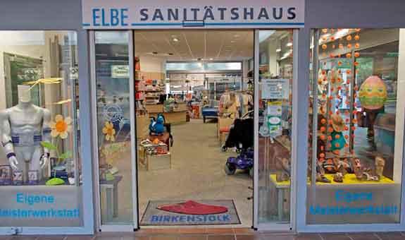 Bild 1 ELBE Sanit�tshaus in Braunschweig