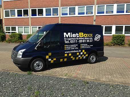 Bild 1 Mietboxx Hemmingen Inh.: Ralf Rosenm�ller in Hemmingen