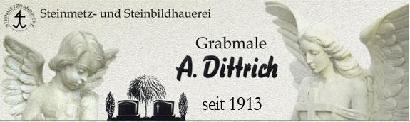 Bild 1 A. Dittrich Grabmale in Weyhe