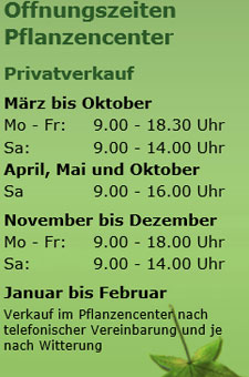 Bild 1 Gartenbau & Pflanzencenter Hatt GmbH und Co. KG in M�nster