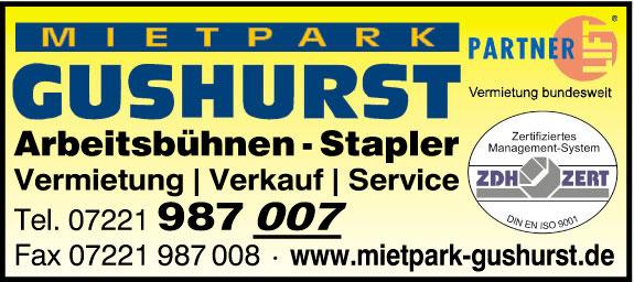 Bild 1 Mietpark Gushurst GmbH in Sinzheim