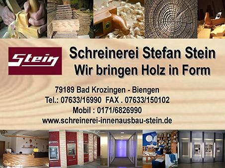 schreinerei stefan stein in heitersheim mit adresse und telefonnummer. Black Bedroom Furniture Sets. Home Design Ideas