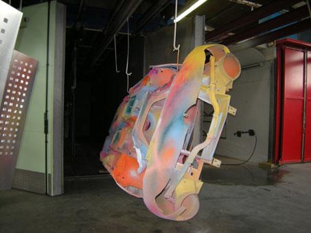Bild 1 WEIDE Pulverbeschichtung und Strahltechnologie in Karlsruhe
