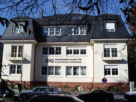 Bild 1 �sthetische Chirugie Mannheimer Klinik f�r Plastische Chirurgie in Mannheim