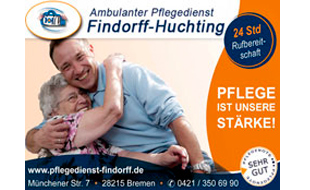 Logo von Ambulanter Pflegedienst Findorff-Huchting