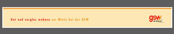 GSW Gen. f. Siedlungsbau und Wohnen Minden e.G.