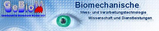 GeBioM Ges. f. Biomechanik Münster mbH
