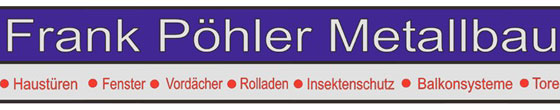 FPM Frank Pöhler Metallbau