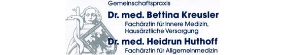 Kreusler Bettina Dr.med., Huthoff Heidrun Dr.med.