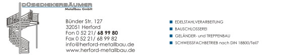 Düsediekerbäumer Metallbau GmbH