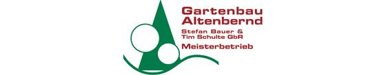 Logo von Altenbernd Gartenbau Stefan Bauer und Tim Schulte GbR