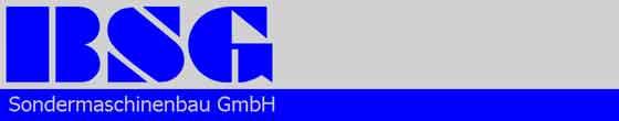 BSG Sondermasch.Bau GmbH