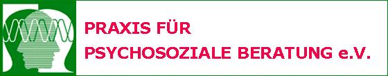 Logo von Praxis für psychosoziale Beratung e.V.