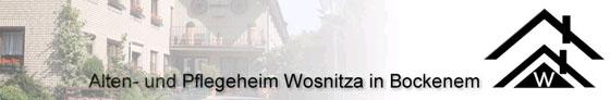 Logo von Wosnitza Alten- und Pflegeheim