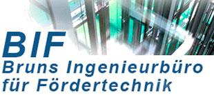 BIF Bruns Ingenieurbüro für Fördertechnik