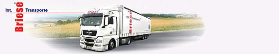 Briese Int. Transporte und Lagerung