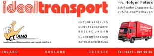 Ideal-Transport