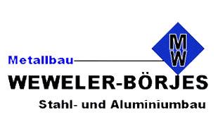 Metallbau Weweler-Börjes GmbH Stahl u. Aluminiumbau