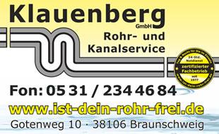 Klauenberg GmbH Rohr- und Kanalservice