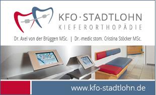 Bild zu KFO-Stadtlohn Kieferorthopädie Dr. Axel von der Brüggen MSc. & Dr.-medic stom. Cristina Stöcker MSc. in Stadtlohn