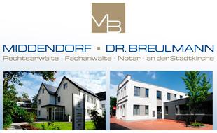 Middendorf/Dr. Breulmann Rechtsanwälte Fachanwälte Notar an der Stadtkirche
