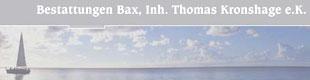 Bax Bestattungen Inh. Thomas Kronshage e.K.