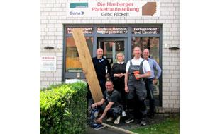 Bild zu Bodenbeläge u. Parkettmeisterbetrieb RICKELT OHG in Hasbergen Kreis Osnabrück