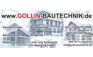 Bild zu Gollin - Bautechnik in Bad Oeynhausen