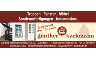Barkmann, Günter GmbH & Co. KG Tischlerei