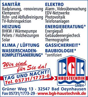 BGK Haustechnik GmbH