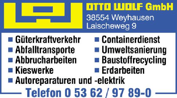 Wolf GmbH, Otto
