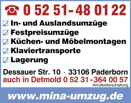 Bild 1 MINA Umzüge Adefope GbR in Bielefeld