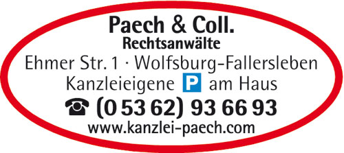 Bild 1 Anwaltskanzlei Paech & Coll. in Wolfsburg