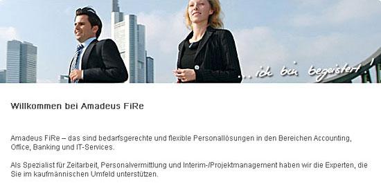 Bild 1 Amadeus FiRe AG in Hannover