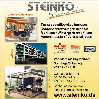 STEINKO GmbH Sicht- u. Sonnenschutz