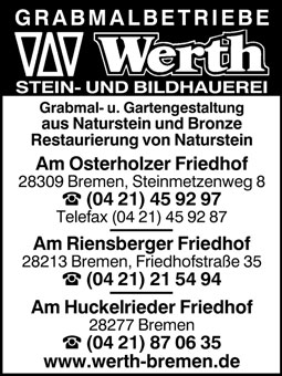 Grabmalbetriebe Werth GmnH & Co. KG