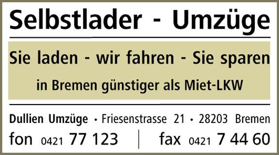 Bild 1 Dullien Umzüge in Bremen