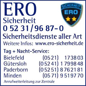 Bild 1 ERO Sicherheit GmbH in Bielefeld