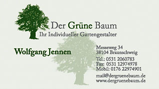 Der Grüne Baum, Ihr individueller Gartengestalter